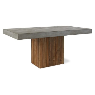 Perpetual Sparta Dining Table Top Finish: Slate Gray