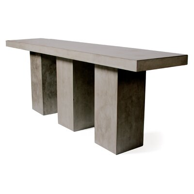 Perpetual Kos Bar Table Finish: Slate Gray
