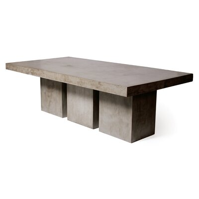Perpetual Tuscan Dining Table Finish: Slate Gray
