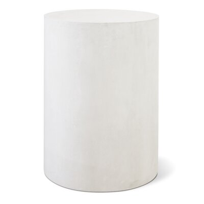 Perpetual Ben Side Table Finish: Ivory White