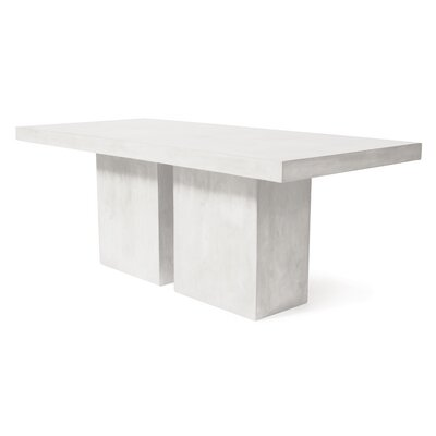 Perpetual Loire Dining Table Finish: Ivory White