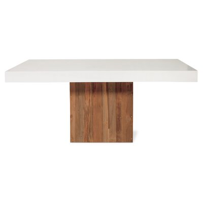 Perpetual Sparta Dining Table Top Finish: Ivory White