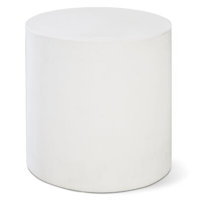 Perpetual Bill Side Table Finish: Ivory White