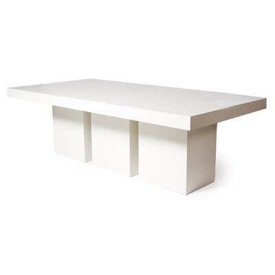 Perpetual Tuscan Dining Table Finish: Ivory White