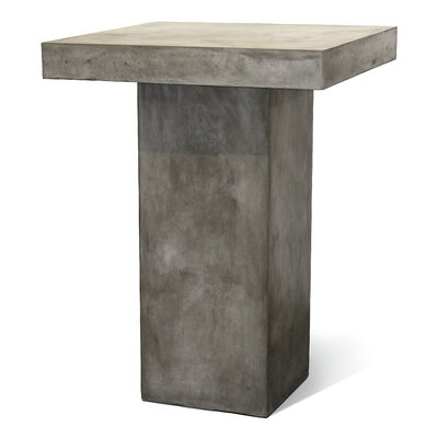 Perpetual Provence Bar Table Finish: Slate Gray