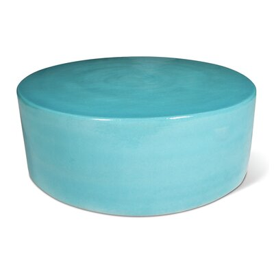 Caroness Coffee Table Finish: Turquoise Blue