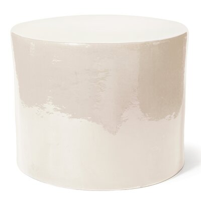 Tambernis Side Table Finish: Creamy White