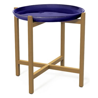 Ibis Side Table Top Finish: Navy Blue