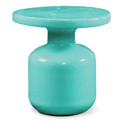 Bottle Side Table Finish: Aquamarine