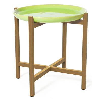 Cheap Ibis Side Table Top Finish Apple Green for sale