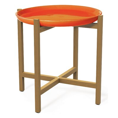 Ibis Side Table Top Finish: Orange