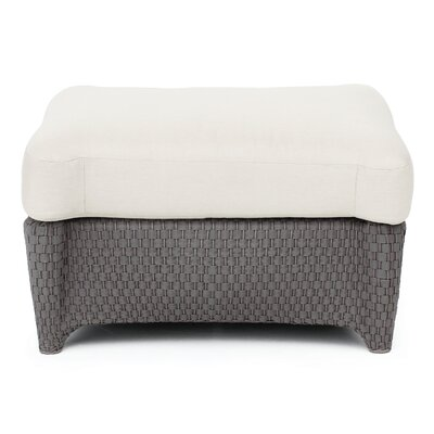 Kashgar Indoor/Outdoor Ottoman with Cushion