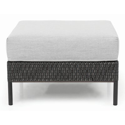 Precision Indoor/Ourtdoor Ottoman with Cushion