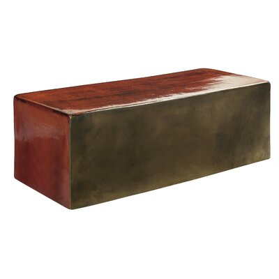Perpetual Heritage Coffee Table Finish: Antique Red