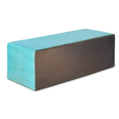 Perpetual Heritage Coffee Table Finish: Turquoise Blue
