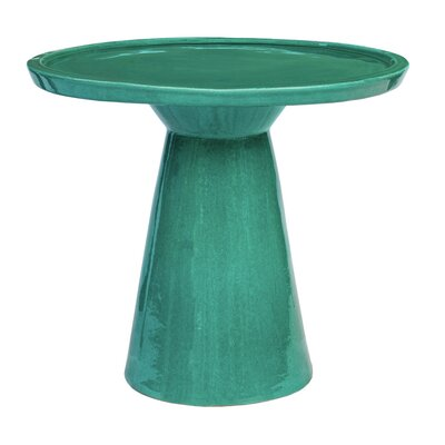 Colombo End Table Color: Aquamarine