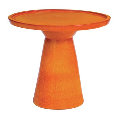 Colombo End Table Color: Orange