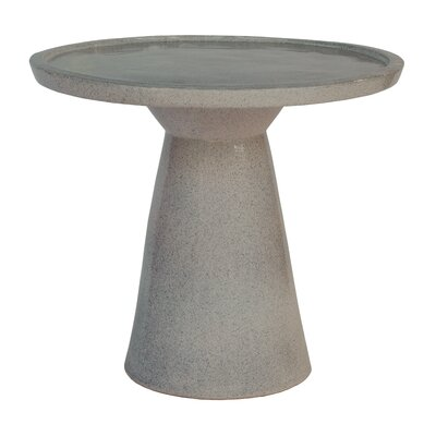Colombo End Table Color: Charcoal Gray
