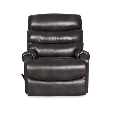 Bailey Fixed Base Manual Recliner Upholstery: Slate