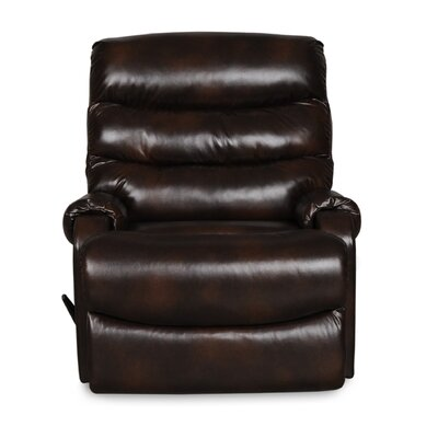 Bailey Fixed Base Recliner Upholstery: Chocolate