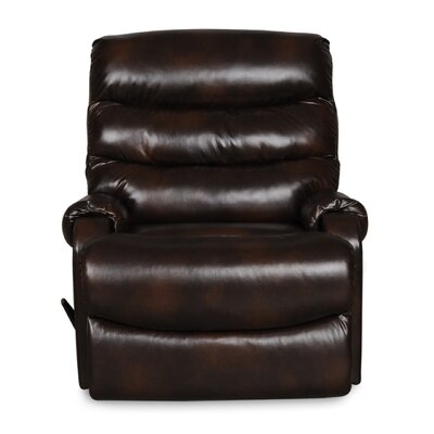Bailey Manual Rocker Recliner Upholstery: Chocolate