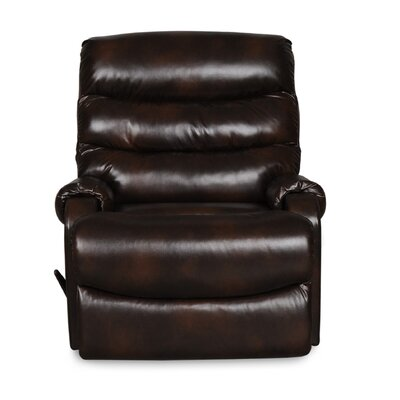 Bailey Manual Glider Recliner Upholstery: Chocolate