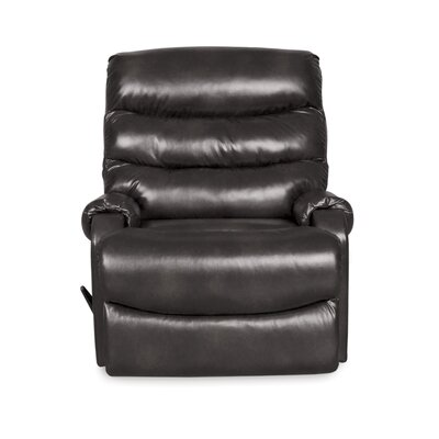 Bailey Manual Rocker Recliner Upholstery: Slate