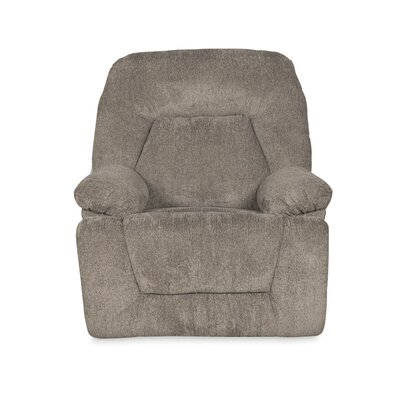 Madison Manual Swivel Recliner Upholstery Color: Platinum