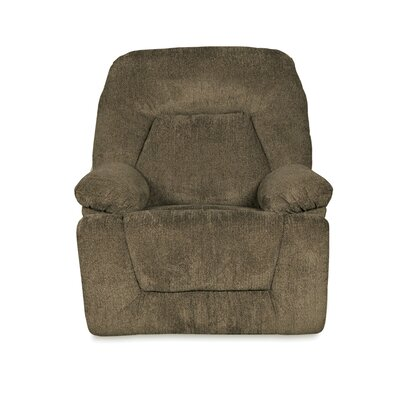 Madison Manual Swivel Recliner Upholstery Color: Cocoa