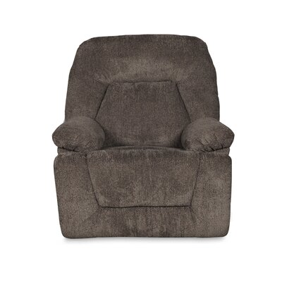 Madison Manual Swivel Recliner Upholstery Color: Pewter