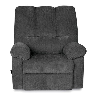 Ethan Recliner Upholstery: Gray
