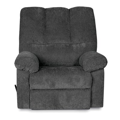 Ethan Manual Rocker Recliner Upholstery: Blue