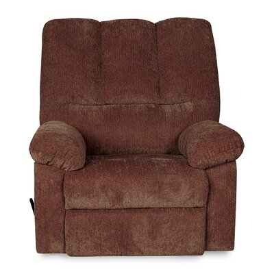 Ethan Manual Rocker Recliner Upholstery: Wine