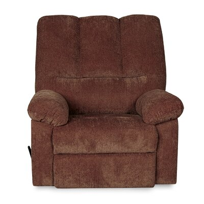 Ethan Manual Glider Recliner Upholstery: Wine