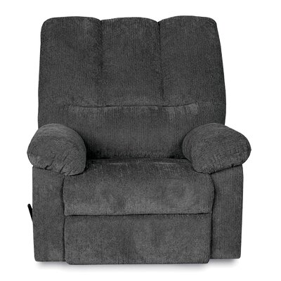 Ethan Manual Glider Recliner Upholstery: Blue