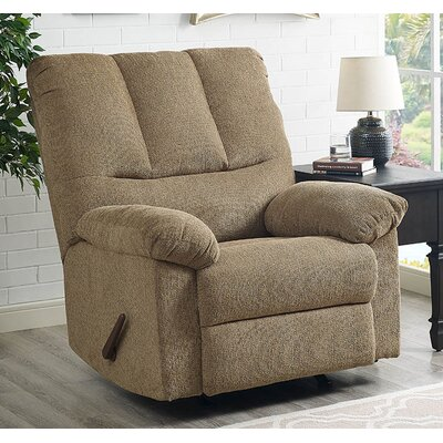 Ethan Manual Glider Recliner Upholstery: Harvest