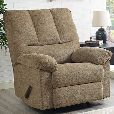 Ethan Manual Rocker Recliner Upholstery: Harvest