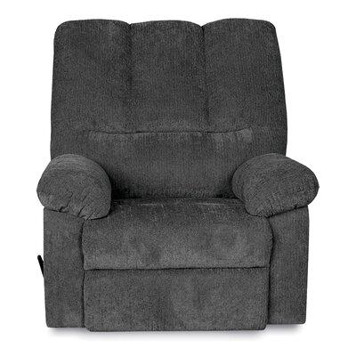 Ethan Manual Rocker Recliner Upholstery: Blue
