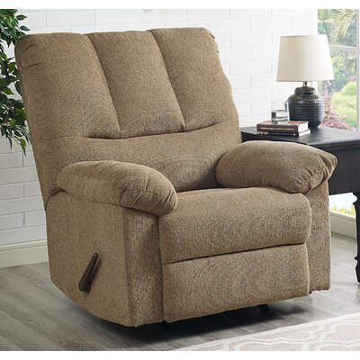 Ethan Manual Swivel Recliner Upholstery: Harvest