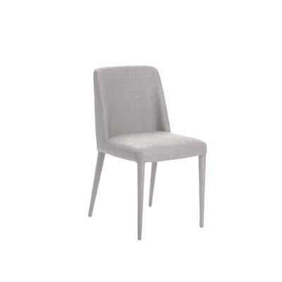 Lavigne Parsons Chair Upholstery: Grey
