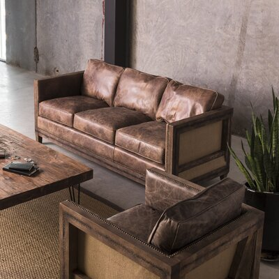 Sherly Leather Sofa