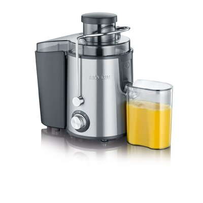 Entsafter | Küche und Esszimmer > Küchengeräte > Entsafter | Black | Edelstahl - Gebürstet - Metall - Kunststoff | Severin