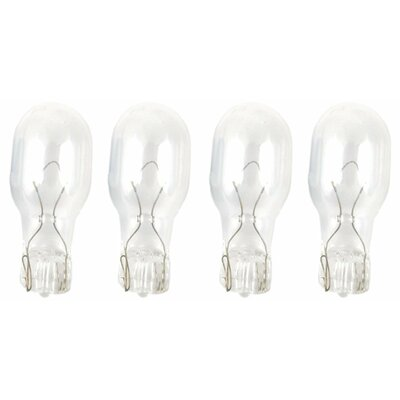 Wedge Base Incandescent Light Bulb Wattage: 7