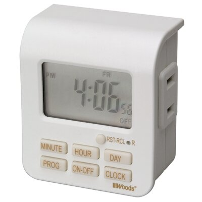 7-Day Digital Outlet Timer