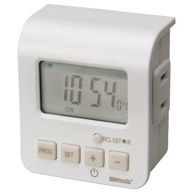 24-Hour Digital Outlet Timer