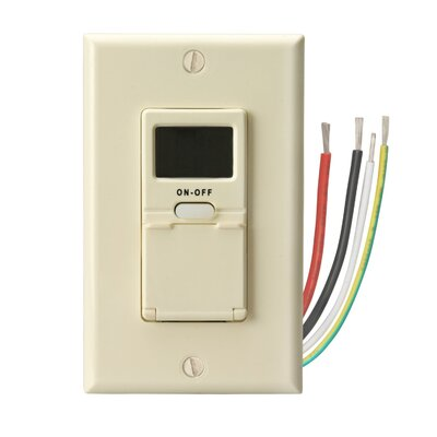 In-Wall Digital 7-Day Programmable Timer