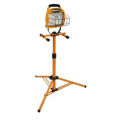 Adjustable with Telescoping Tripod Stand Flood/Security Light