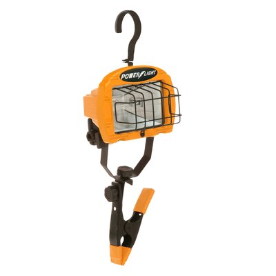 Halogen Portable Flood/Security Light