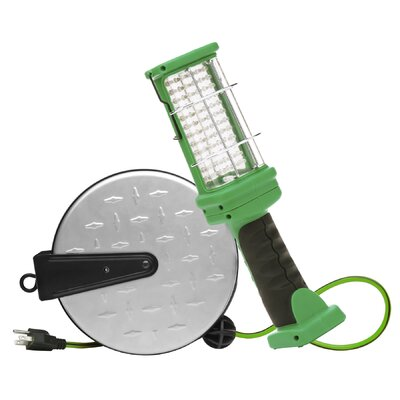 Retractable Extension Cord LED Handheld Flood/Security Light