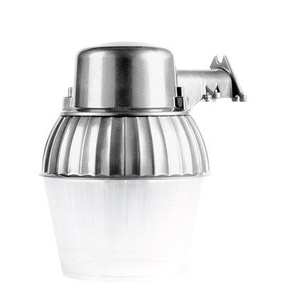 Fluorescent All Metal Dusk to Dawn 1-Light Security Light